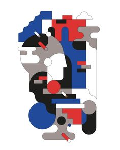 Various Abstract Prints on Behance