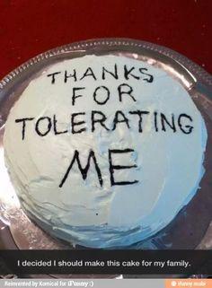 Tolerating Cake Ifunny