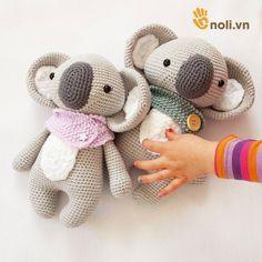 noli.vn | Bỏ túi ngay chart móc gấu Koala xinh xắn, dễ thương - noli.vn