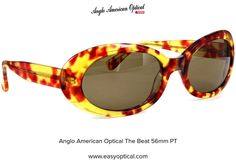 Anglo American Optical The Beat 56mm PT Beats, Sunglasses, American, Sunnies, Shades, Eyeglasses, Glasses