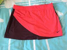 Resultado de imagen para faldas deportivas nike