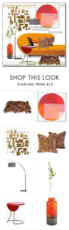 """Sin título #1732"" by mussedechocolate ❤ liked on Polyvore featuring interior, interiors, interior design, home, home decor, interior decorating, West Elm, Crate and Barrel and OKA"