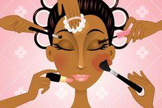 Wearing Makeup To Look Attractive