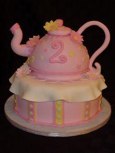 Teapot Cake for Briana