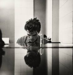 Chet Baker (1954) by William Klein