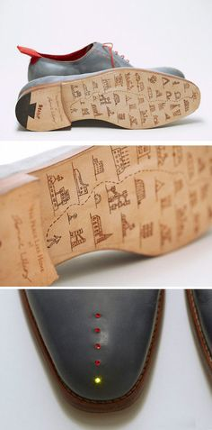 creative shoes design - how special to personalise your journey to your wedding