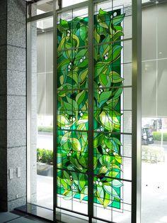 杜の緑 | ステンドグラスの企画・設計・制作・施工ならクレアーレ