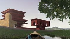 The Suncheon Art Platform project refers to the Mandala idea of expanding the…
