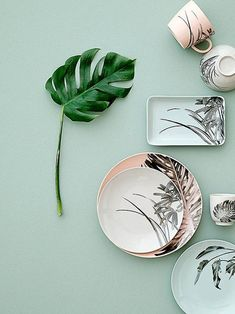Color trend 2020 neo mint : be inspired by the best inspiration in minth and seafoam green in interiors and design Color Trends, Design Trends, Design Ideas, Studio Decor, Teller Set, Image Deco, Turbulence Deco, Plate Design, Home Trends