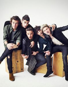 Our amazing boys!!! They've grown up so much but they haven't really CHANGED. Louis is still a hilarious sass master, Zayn is still too cool and deep for words, Liam is still the daddy, Nialler is still the goofy carefree crazy Irishman he was from day uno, Harry is still... Harry? Lol there isn't many words that can sum up that mess of curls and charm. They are still and always have been, OUR BOYS!!! <3