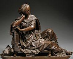 Albert Carrier-Belleuse ~ Chryselephantine sculpture | Tutt'Art@ | Pittura * Scultura * Poesia * Musica |