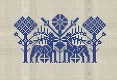 Deer  (Cross Stitch Pattern)