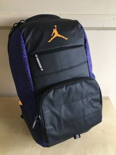 6da979b5c7 NWT Nike Jordan Jumpman All World School Backpack Elephant Basketball  9A1640-P19  fashion