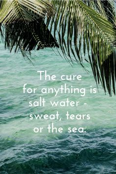 The cure for anything is saltwater - sweat, tears or the sea. Looking for the ultimate wellness retreat in Bali to get a dose of all three? Come along for a wellness retreat in Bali where you can discover all three. Click through for a whole lot of saltwater!