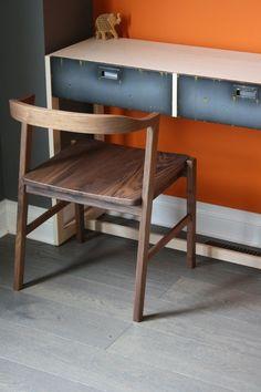Custom Made Modern Dinning Chair by Wheeler's Studio