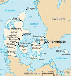 Old Map Of Denmark We Will See You Soon Travel Pinterest - Sweden map hedestad