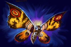 13 Nights 2012 Mothra by Grimbro.deviantart.com on @deviantART