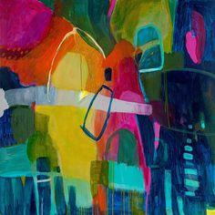 Sarina Diakos Abstract painting large giclee
