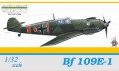 Eduard Messerschmitt Bf 109E-1 (ölçek 1:32)