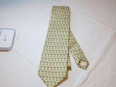 "Off Island by Tommy Bahama menswear neck tie silk handmad Palm Tree Mens 56"" EUC #OffIslandbyTommyBahama #tie"