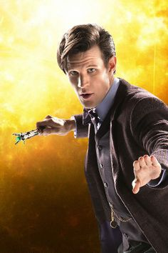 The Eleventh Doctor. I'm dreading the day Matt Smith leaves Doctor Who / it's already happened!..
