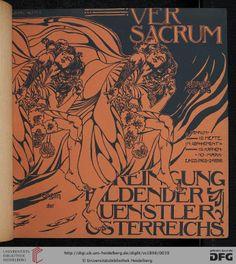 Ver sacrum: Mittheilungen der Vereinigung Bildender Künstler Österreichs (1.1898) (C 6050-26 Folio RES::1.1898,+ Sonderheft )