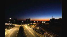 Time Lapse desde pasarela peatonal Ronda Norte Sierrilla