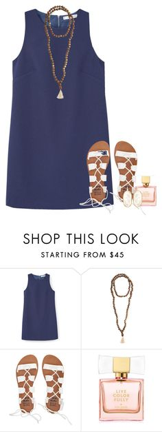 """feel like a million"" by conleighh ❤ liked on Polyvore featuring MANGO, Jewelry for a Cause, Billabong, Kate Spade and Kendra Scott"