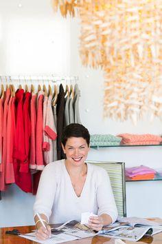 Lilla P Owner and Creative Director Pauline Sokol Nakios #theeverygirl