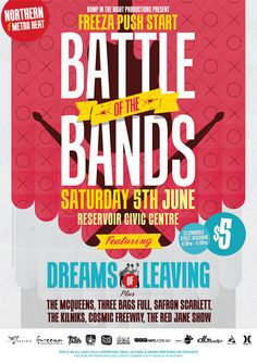 summer sizzle battle of the bands, winner takes all!