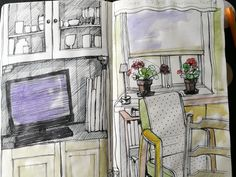 Anne Kimiläinen, from my sketchbook