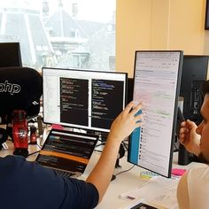Photo Credit: @usabilla #coderzone #code #coding #softwareengineer #frontend #sublimetext #workspace #nodejs #indiegamedev #indiedev #gamedesign #softwareengineering #devlife #webdeveloper #reactjs #angularjs #github #frontenddeveloper #linux #javascript