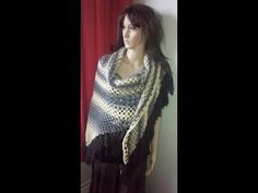 tutorial breiring: omslagdoek Deel 1 / knitting loom scarf - YouTube