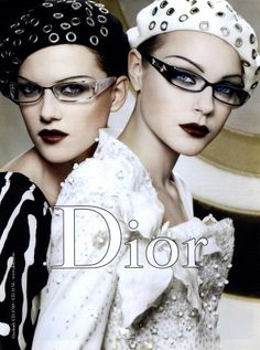 Jessica Stamm , Kasia Struss - Christian Dior by John Galliano Spring/Summer 2008 Advertising Campaign with Jessica Stamm , Coco Rocha and Kasia Struss Photographed by Graig McDean Styled by Alexis Roche