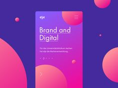 Elje-group Brand and Digital by Stan Yakusevich - Dribbble