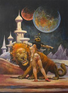 John Carter Of Mars Art | ... art, John Carter,DEJAH THORIS of Mars,24 x30 on board,2012 Comic Art