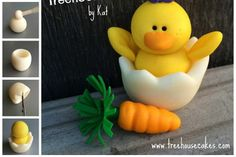Hatching Chick Cupcake Topper Tutorial by Treehouse Cakes by Kat http://sulia.com/my_thoughts/d9cbeeed-2f0f-4ce5-866e-f572545fc8d1/?source=pin&action=share&btn=small&form_factor=desktop&pinner=117154591