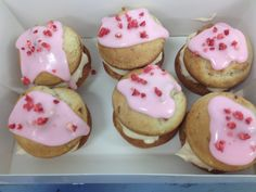 Our strawberries and cream whoopie pies perfect for Wimbledon fortnight (or anytime!!)