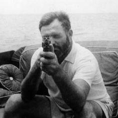 Hemingway en España durante La Guerra Civil. Enero de 1938.