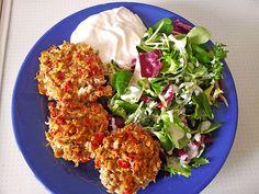 Low Carb Rezepte: Low Carb Gemüse-Thunfisch-Muffins