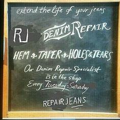 #repairjeans #pourunbonentretiendevosjeans #contactezpourundevis