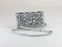 Michael Kors Flora Burst XLarge Wallet on a Chain Leather Silver for sale online Michael Kors Crossbody Bag, Michael Kors Bag, Large Wallet, Purses, Floral, Silver, Leather, Bags, Accessories