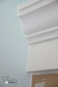 DIY:  How and What To Caulk - excellent tutorial shows where to caulk, what to use and how to apply it.  Caulk hides imperfections and makes even the beginner DIY'er look like a pro!