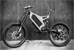 Stealth electric bike - goes up to 50mph