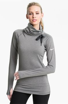 Nike 'Pro Hyperwarm Hybrid' Dri FIT Training Top available at | Chic Fashion Pins : The Cutest Pins Around!!!