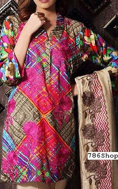Multicolor Staple Jacquard Suit   Buy Charizma Pakistani Dresses and Clothing online in USA, UK