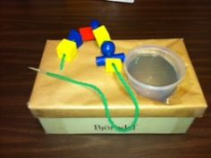 String Large Wooden Beads File Folder Activities, Task Boxes, Apple Tree, Shoe Box, Wooden Beads, Projects To Try, Asd, Fine Motor, Autism