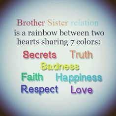 Trendy Birthday Quotes Sister I Love You Brother Ideas Love My Brother Quotes, Brother Sister Love Quotes, Brother And Sister Relationship, Sister Quotes Funny, Brother And Sister Love, Sister Birthday Quotes, Cousin, Rakhi Quotes, Alone