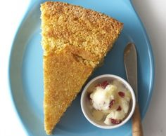 #locavore tip: cornbread is a natural pick for a quick baked good.  For example, this Three Layer Corn Bread courtesy of Gianforte Farm (#makeitlocavore with local cornmeal, flour, egg, honey or cider molasses, sunflower oil or melted butter and milk)