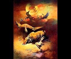 Frank Frazetta Flying_Reptiles
